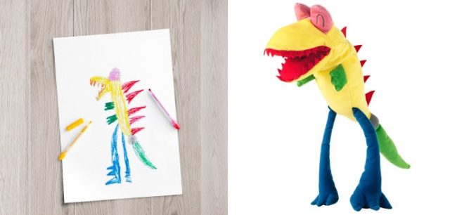 children's drawings into plush toys 8
