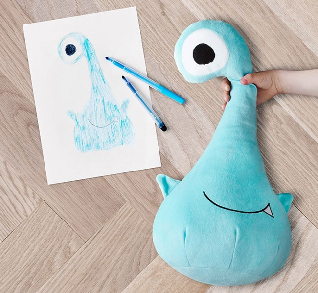 children's drawings into plush toys 9