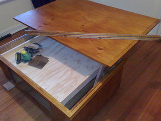 coffee table into laptop desk 11