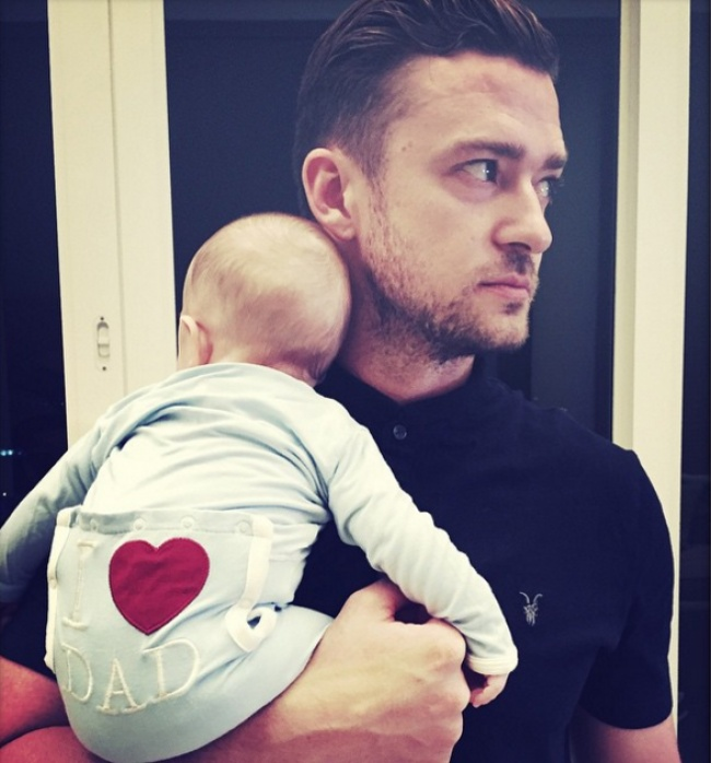 famous dads with their babies 1