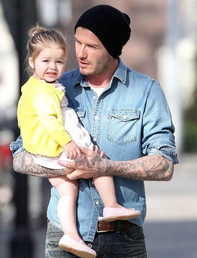 famous dads with their babies 2