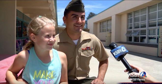 marine surprises little sister 1