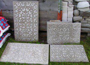 old doormats into work of arts 2