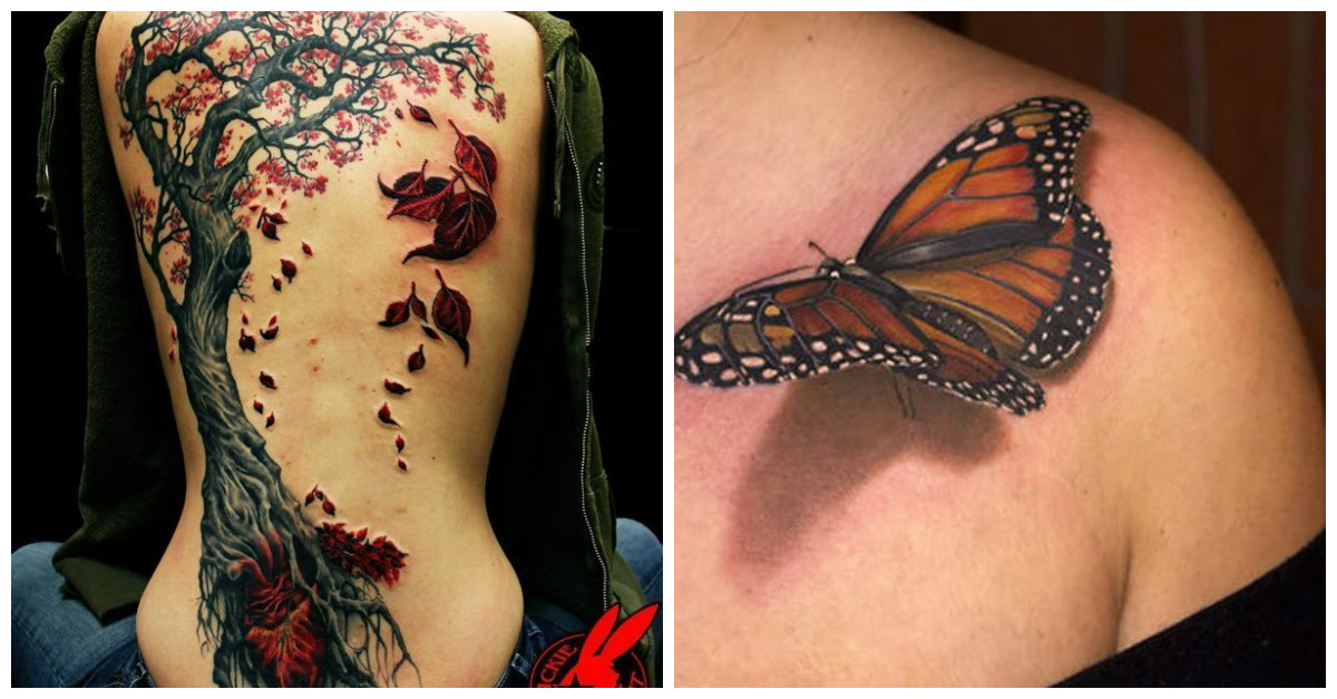 29 Amazing Three Dimensional Tattoos