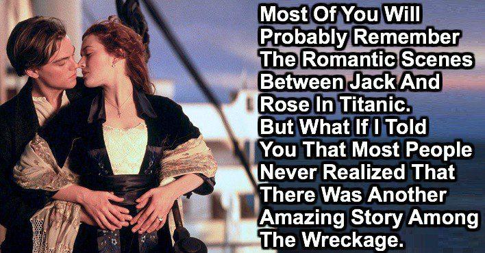 something about titanic 1