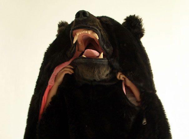 Bear sleeping bag3