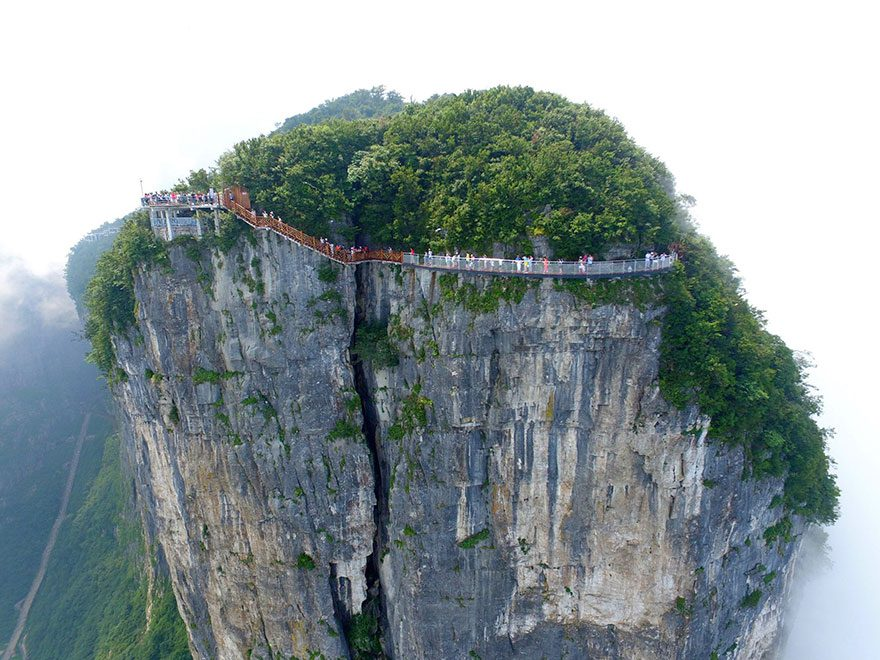 Coiling Dragon Cliff skywalk