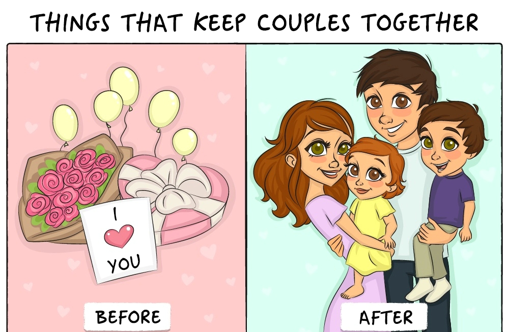 Life before and after marriage4