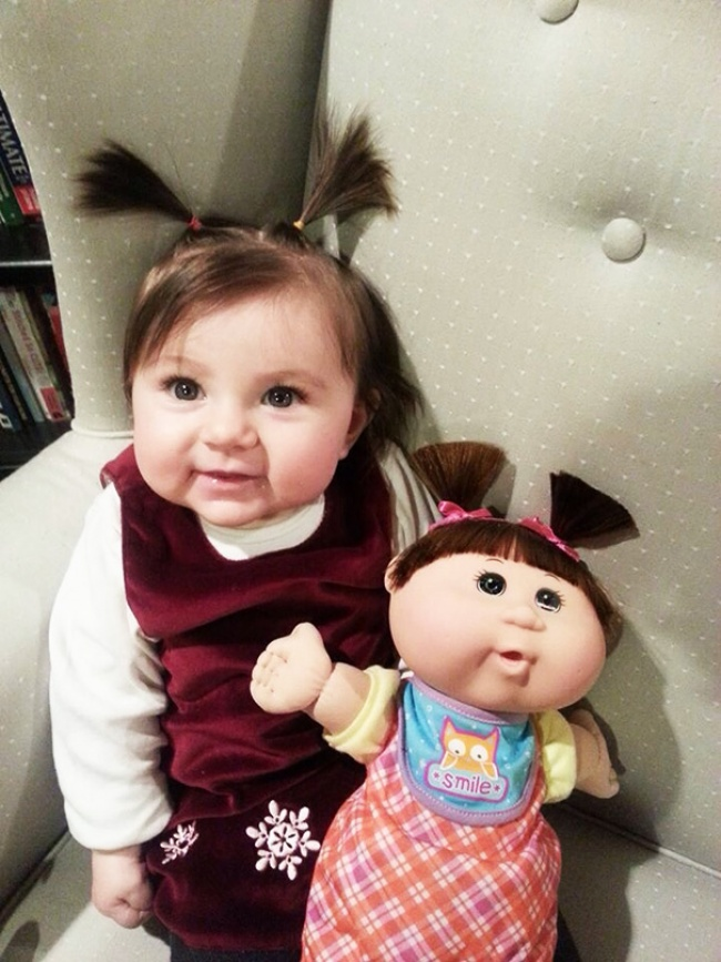 babies and look alike dolls 1