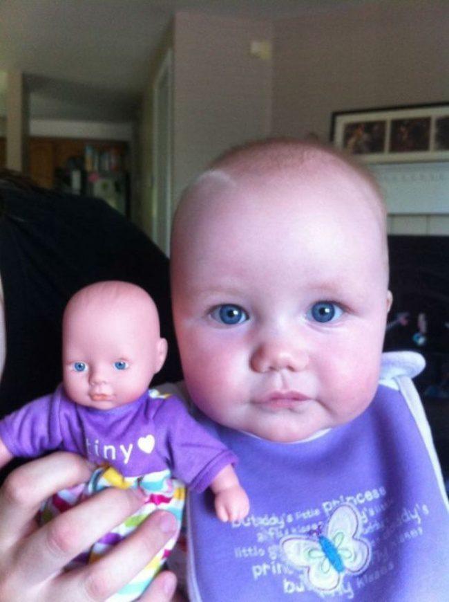 babies and look alike dolls 17