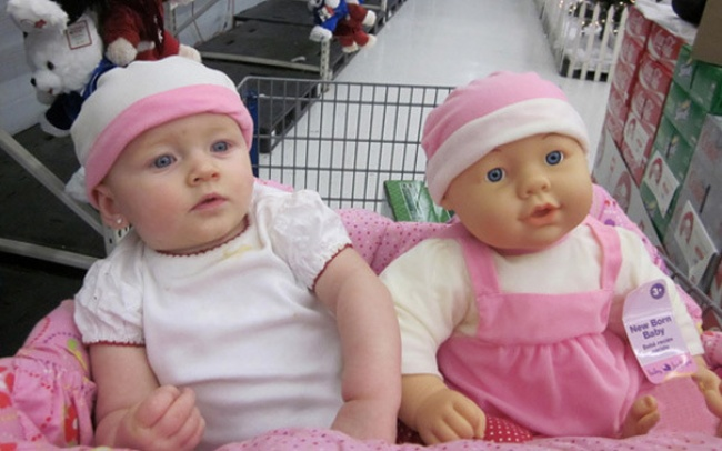 babies and look alike dolls 8