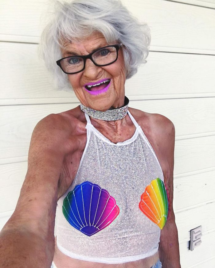 badass grandma