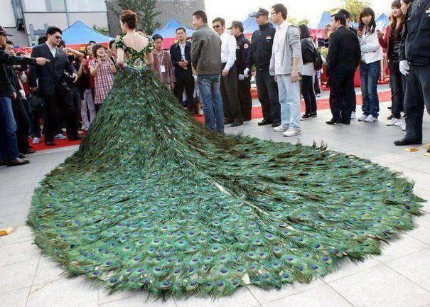 bizarre wedding dresses ever 5