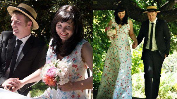 bizarre wedding dresses ever 7