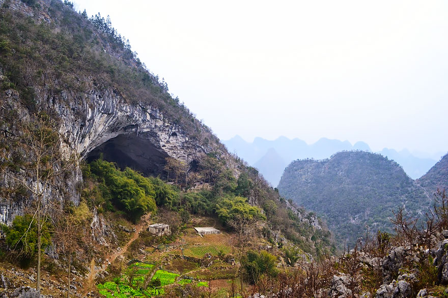 cave village in china