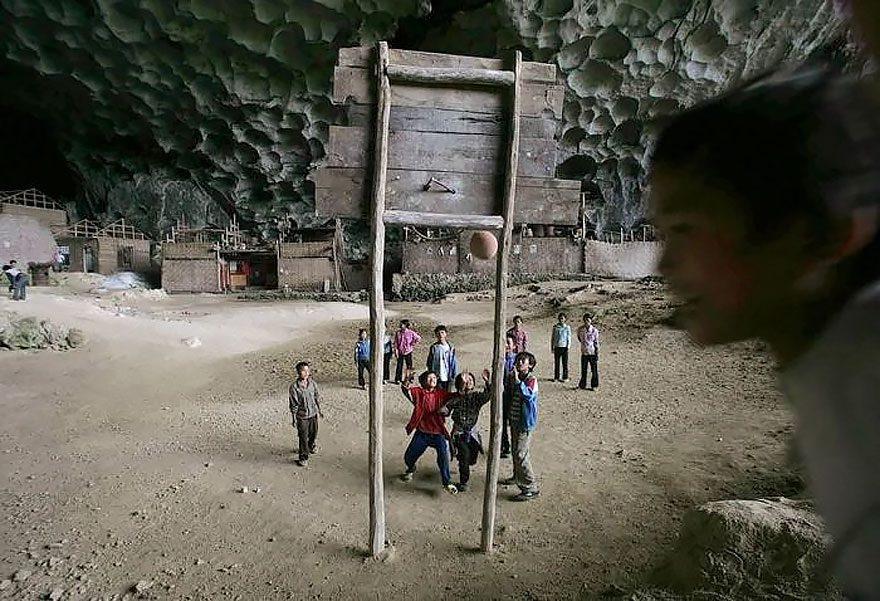 cave village i china