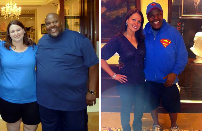 couple weight loss success
