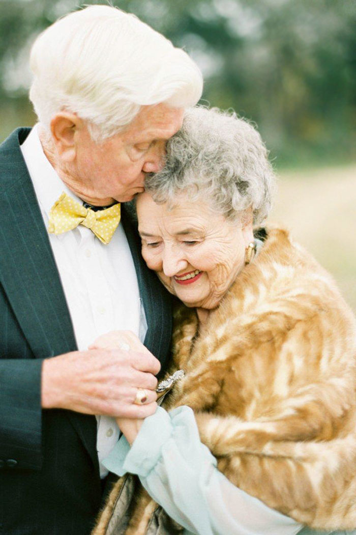 elderly couple married for 63 years