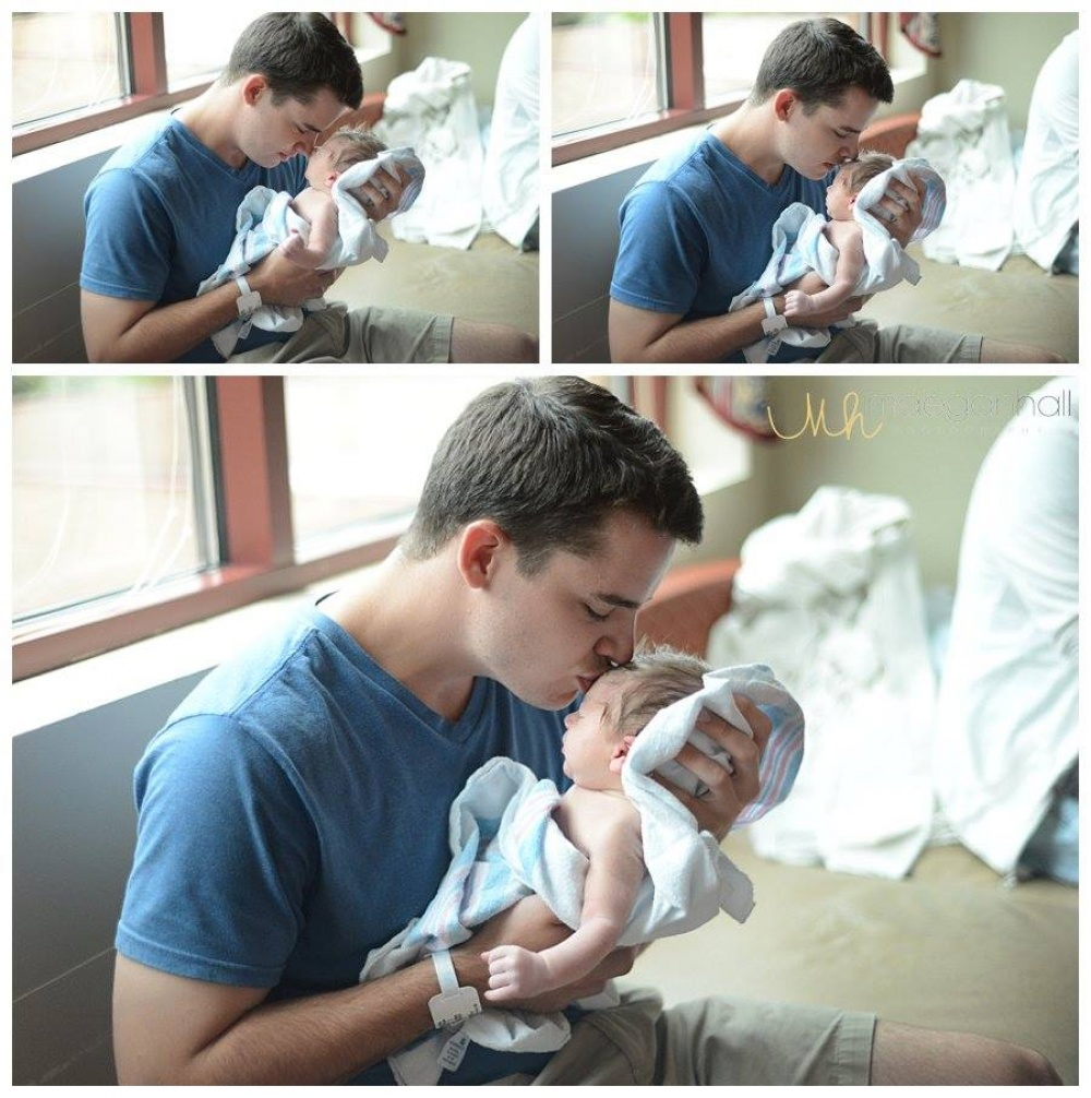 father's moment meet baby for the first time 14