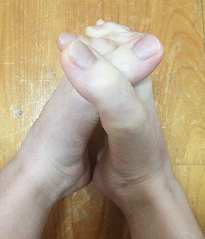 finger toes