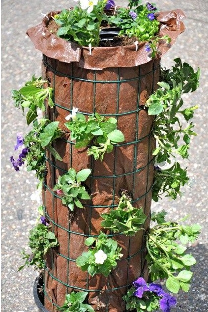 how to make flower tower 3