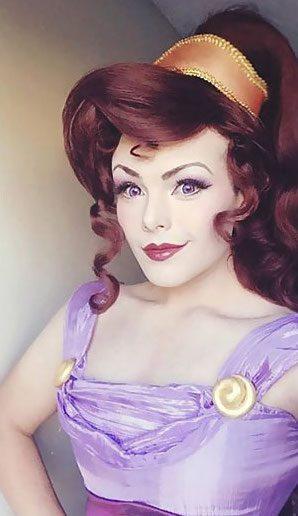 man disney princesses makeup