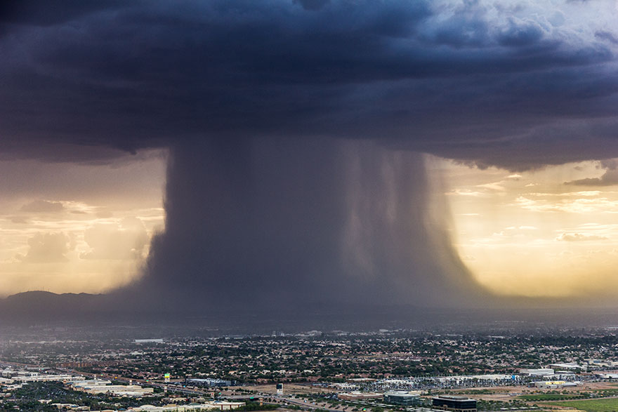 microburst storm