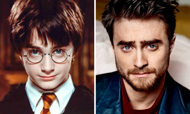 stars of Harry Potter 14 years later 1