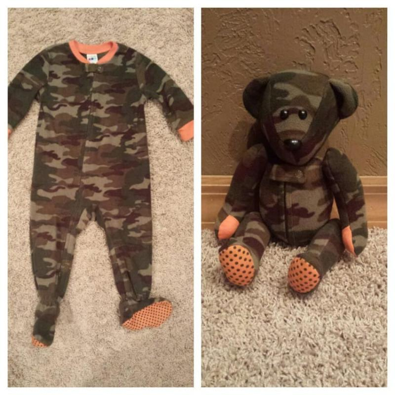 stuffed animals from baby clothes 4