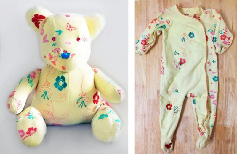stuffed animals from baby clothes 5