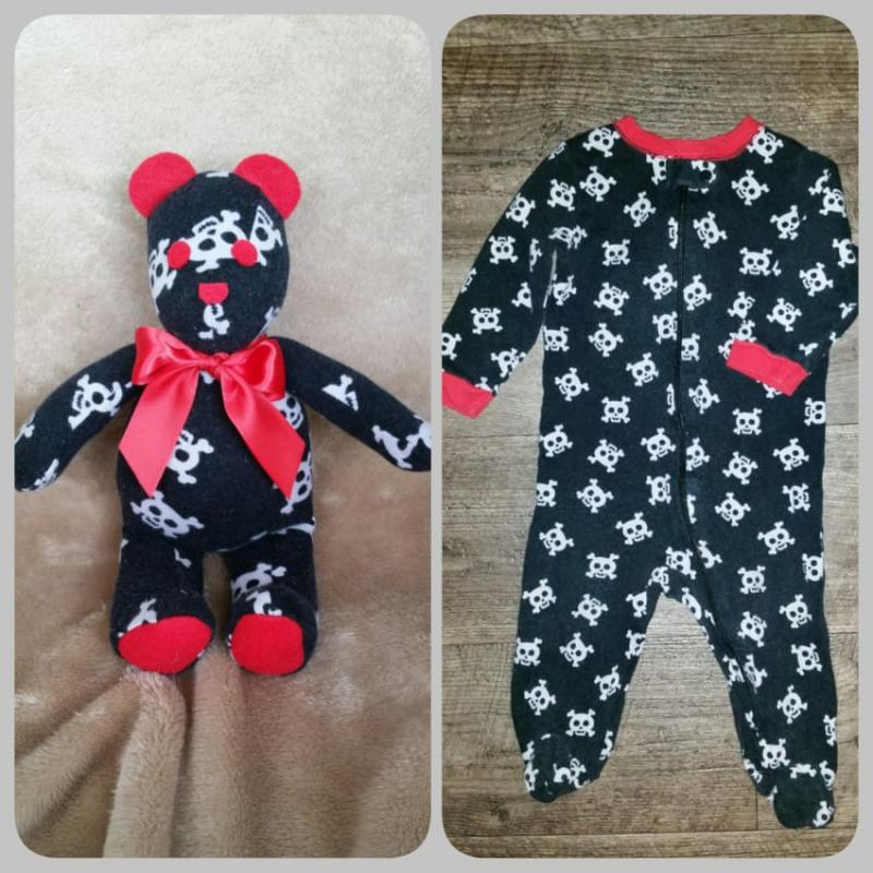 stuffed animals from baby clothes 7