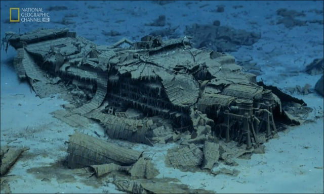 wreck Titanic photos 14