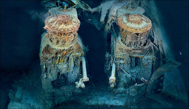 wreck Titanic photos 16