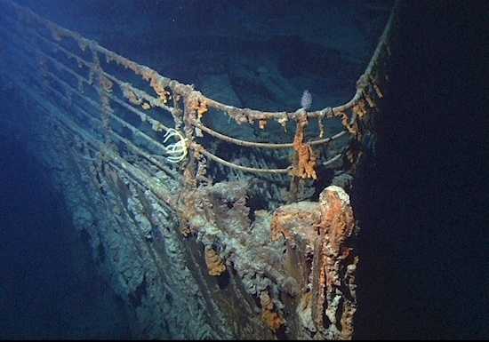 wreck Titanic photos 7