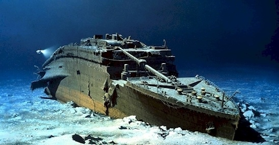 wreck Titanic photos 8