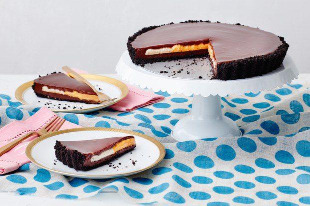 chocolate creme egg tart