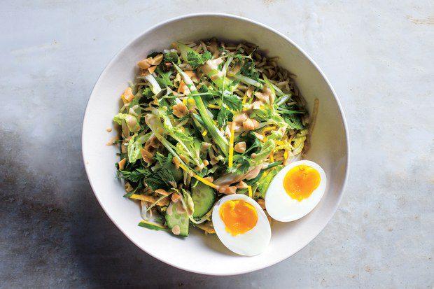 crunchy vegetable bowl