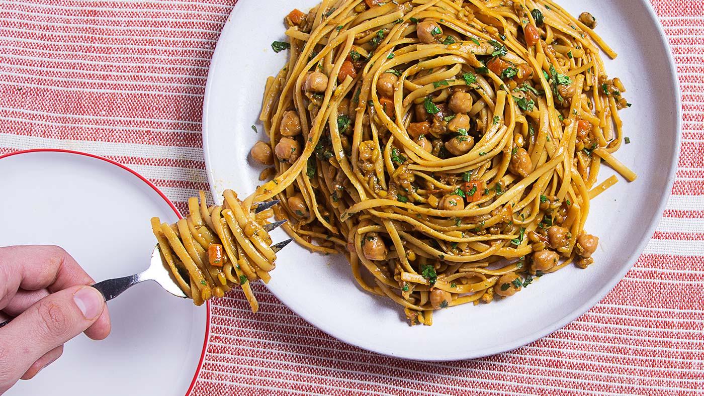 moroccan linguini recipe