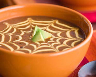 black bean and pumpkin soup