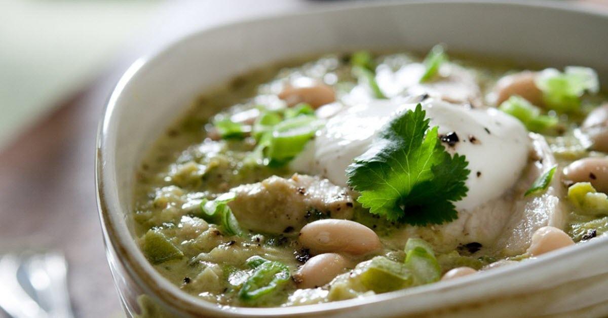 slow cooker cilantro cumin chicken chili
