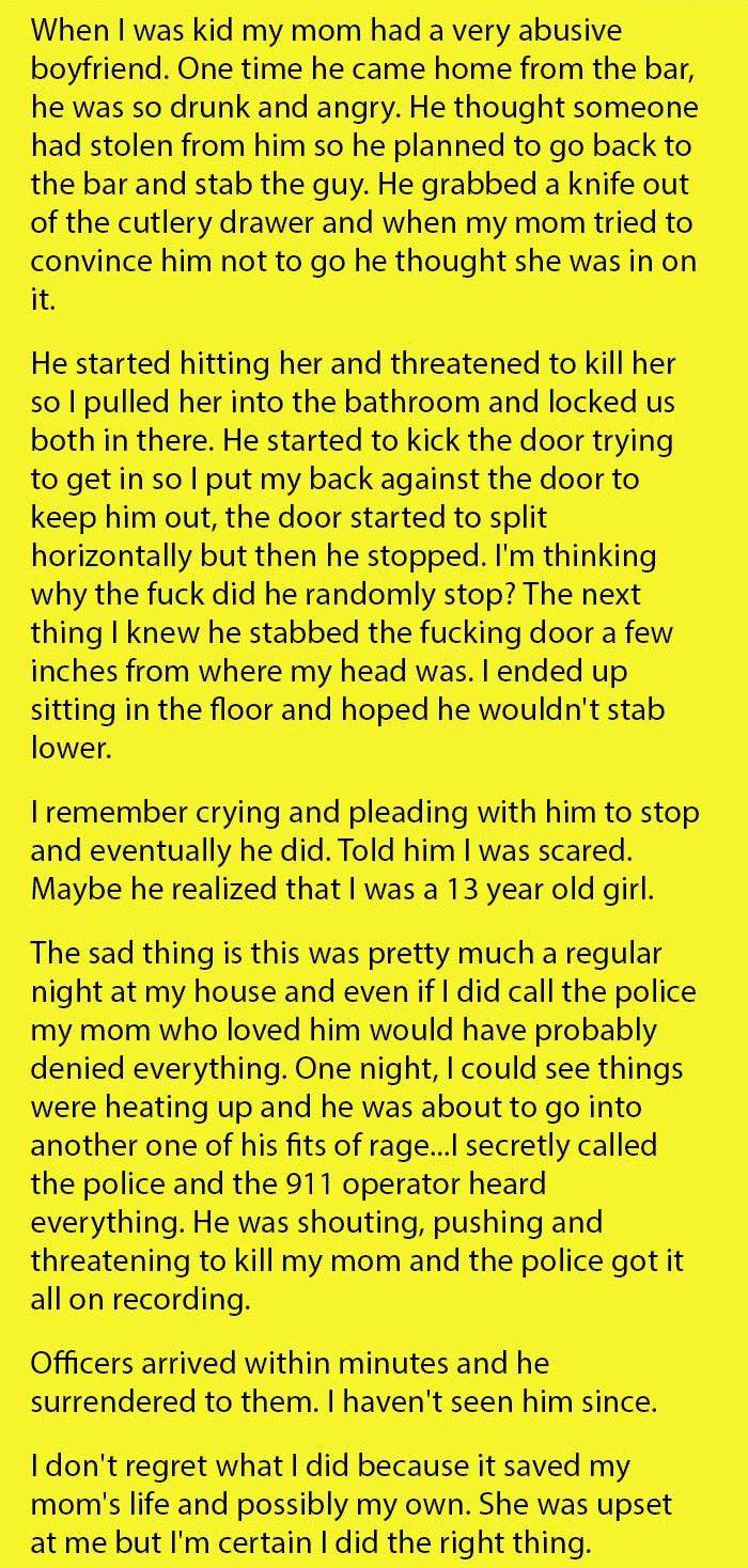 abusive boyfriend