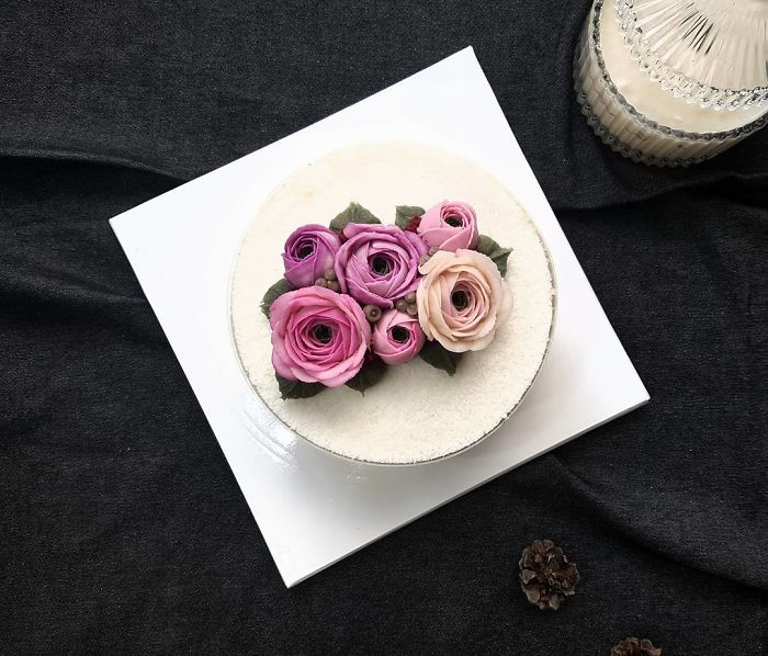 floral cakes