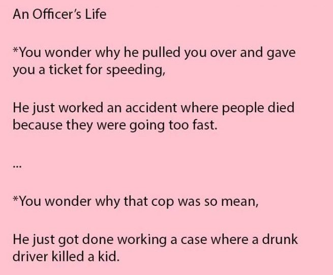officers life