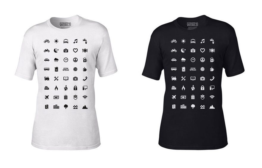 traveler icons shirt