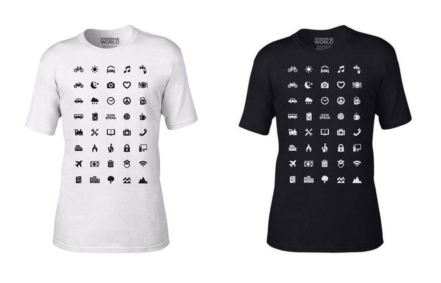 traveler icons shirt