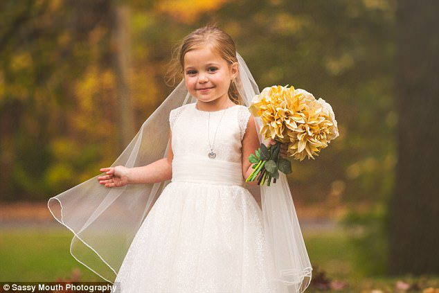 5-year-old marries before surgery