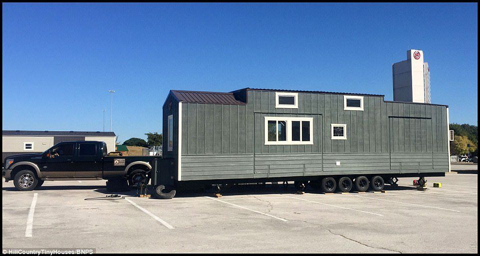 two storey mobile home