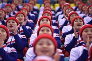 north korea cheerleaders sexual slavery