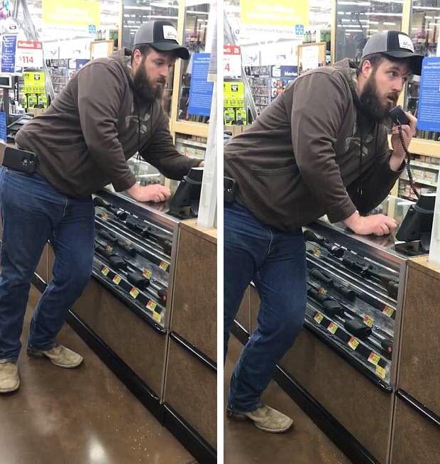 Forrest Hunter walmart customer