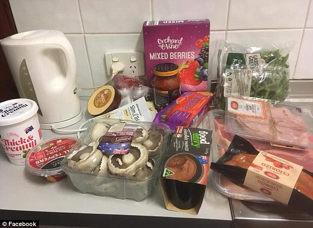 Natasha $53 groceries